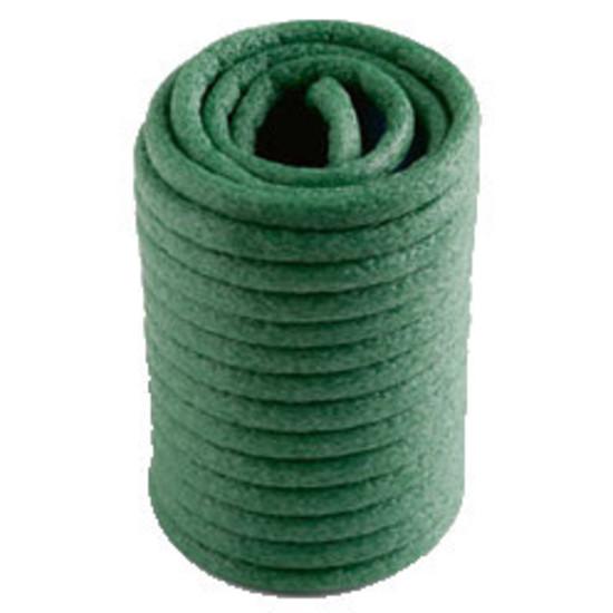 Green-garden-twist-soft-tie